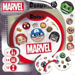 Jeux de société - Dobble Marvel Emoji