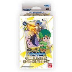 Digimon Card Game Starter Deck 3 Heaven's Yellow 2021 en anglais