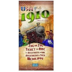 Jeux de société - Occasion - Les Aventuriers du Rail extension USA 1910
