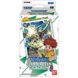 Digimon Card Game Starter Deck ST-4 Giga Green 2021 en anglais