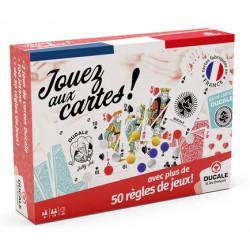 Jeux de société - Coffret 50 Règles - Jouez aux Cartes