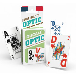 Jeu de Belote Optic