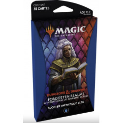 Magic thème booster Dungeons & Dragons Forgotten Realms – Bleu