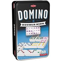 Domino double 9 - Boîte en Métal