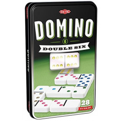 Domino double 6 - Boîte en Métal