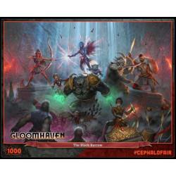 Puzzle Cephalofair Games : Gloomhaven - The Black Barrow - 1000 Pièces
