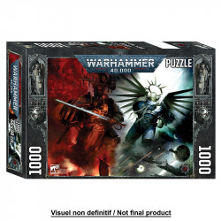 Puzzle Warhammer 40.000 : Gulliman vs Abaddon - 1000 Pièces