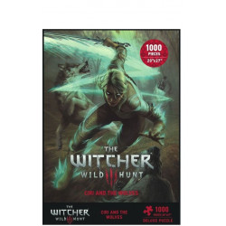 Puzzle Dark Horse : The Witcher 3 - Wild Hunt Puzzle: Ciri and the Wolves - 1000 Pièces