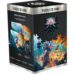 Puzzle Good Loot : The Witcher 3 - Wild Hun - Griffin Fight - 1000 Pièces