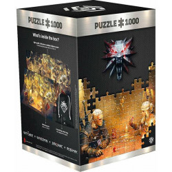 Puzzle Good Loot : The Witcher 3 - Wild Hun - Playing Gwent - 1000 Pièces