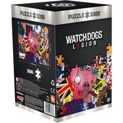 Puzzle Good Loot : Watch Dogs Legion : Pig Mask - 1000 Pièces