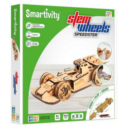 Puzzle Smartivity Steem Wheels - Roues motrices : Speedster