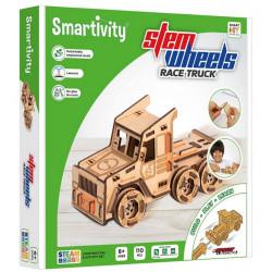 Puzzle Smartivity Steem Wheels - Roues motrices - Camion de Course