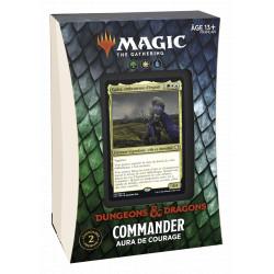 Magic Deck Commander Dungeon & Dragon Forgoten Realms - Aura de courage