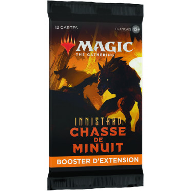 Booster d'Extension Magic Innistrad Chasse de Minuit