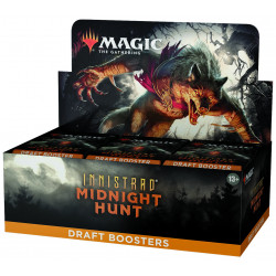 Booster Draft Magic Innistrad Midnight Hunt Boite complète anglais