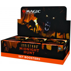 Booster d'Extension Magic Innistrad Midnight Hunt Boite complète anglais