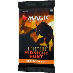 Booster d'Extension Magic Innistrad Midnight Hunt anglais