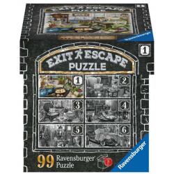 Exit Escape Puzzle - Dans le Manoir - 1 - 99 pièces
