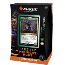 Magic Deck Commander Innistrad Chasse de Minuit - Marqueurs Congrégation