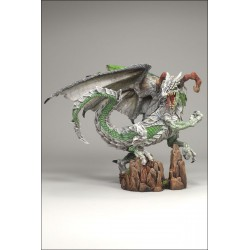Figurine collection mc farlane's warrior dragon