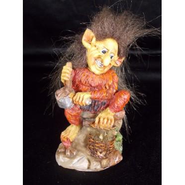 Figurine TROLL Avec souris