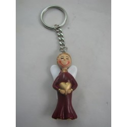 Porte-clefs ange rouge