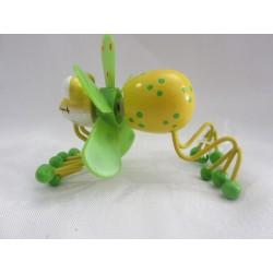 Grenouille volante jaune