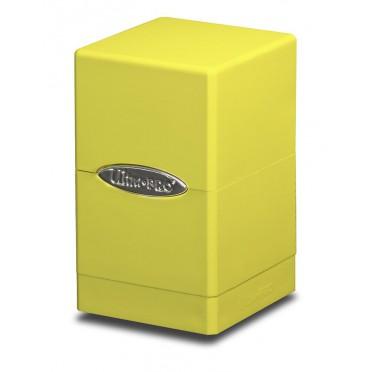 Deck box boite de rangement Ultra Pro Satin Tower jaune
