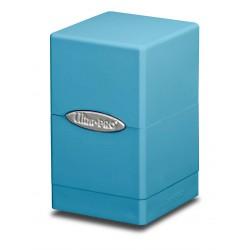Deck box boite de rangement Ultra Pro Satin Tower bleu clair
