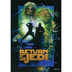 Protège-cartes illustré art sleeves vertical return of the jedi standard