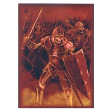 Protège-cartes illustré max protection skeleton warrior standard