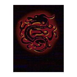 Protège-cartes illustré max protection china dragon red standard