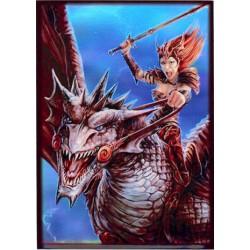 Protège-cartes illustré max protection dragon rider standard