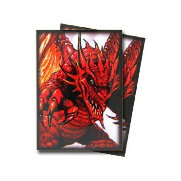 Protège-cartes illustré max protection demon dragon standard