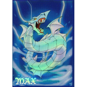 Protège-cartes illustré max protection aquatic dragon standard