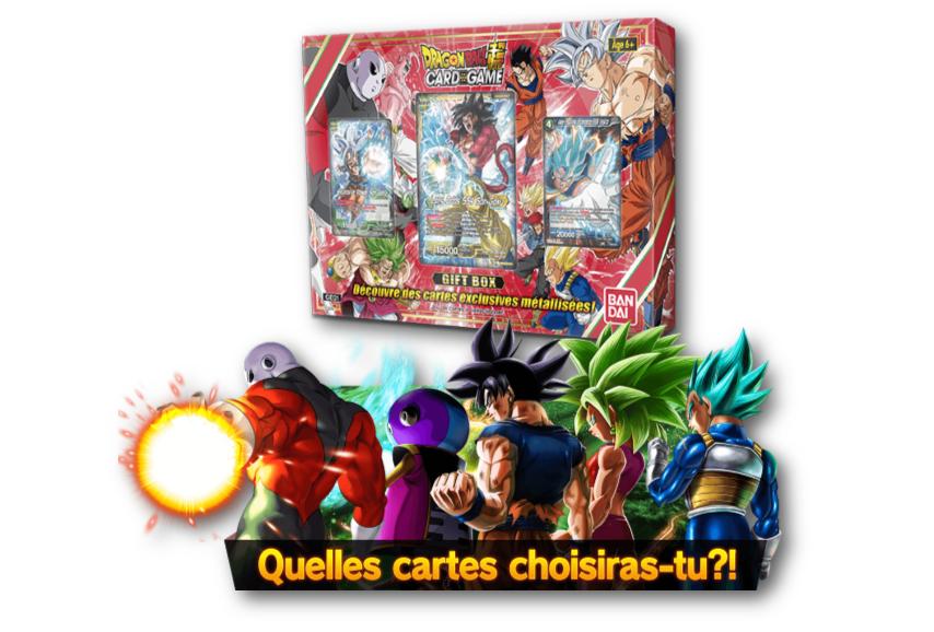 Gift Box 2018 Dragon Ball Super Card Game 05/10/18