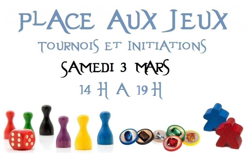 Place aux jeux - Initiations Jeux de Société 03/03/18