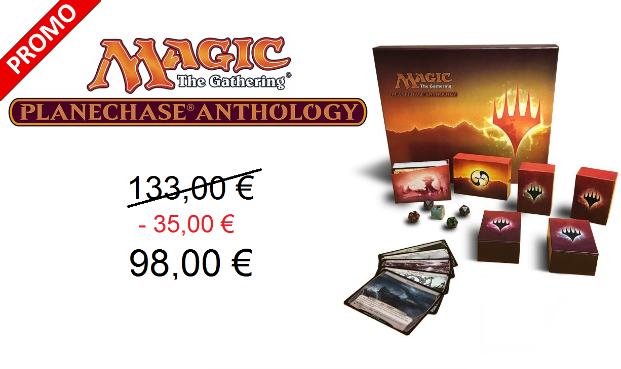 Fantastik Magic The Gauthering Planechase Anthology coffret en anglais Promo