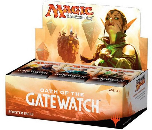 Fantastik Booster magic oath of the gatewatch boîte complète