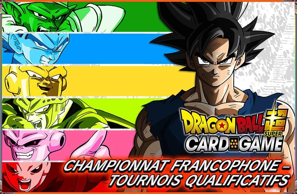Tournois Dragon Ball Super - Qualifier National Championship 2018 9H