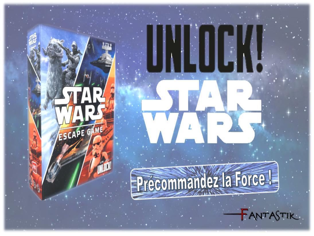Précommande : Jeux de société - Unlock ! Star Wars