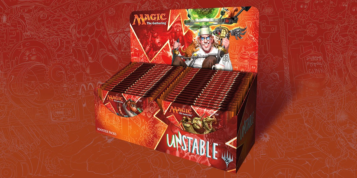 Booster Magic Unstable boite complète 36 boosters
