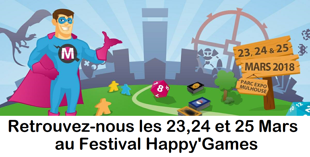 Festival Happy'Games 2018