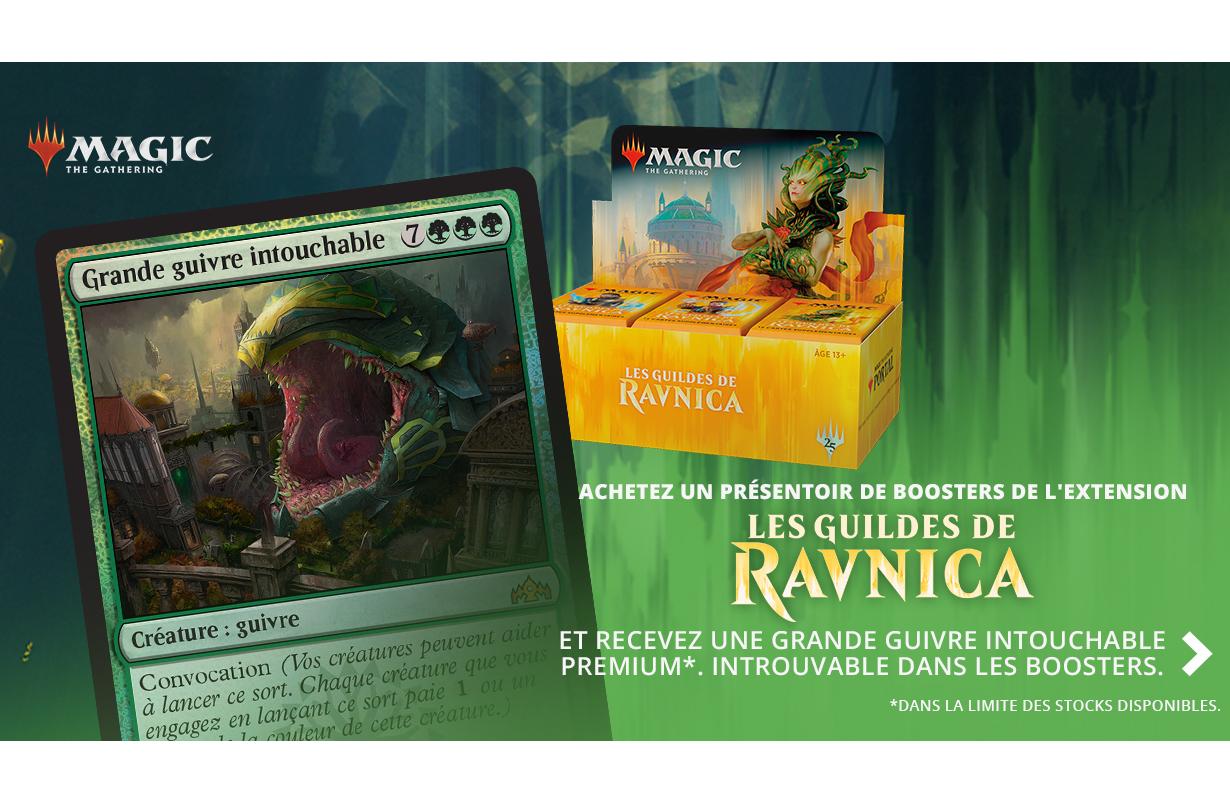 Précommande booster Magic Les Guildes de Ravnica boite complète 05/10/18
