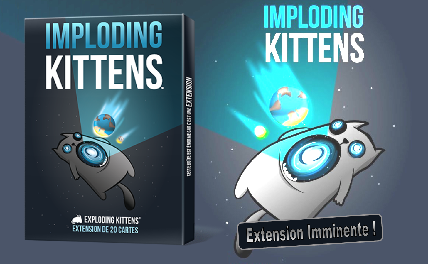 Jeux de société - Exploding Kittens extension Imploding Kittens